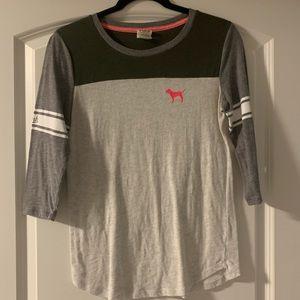Pink by SC three quarter sleeve shirt